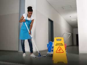 Commercial cleaning is one of our specialties!